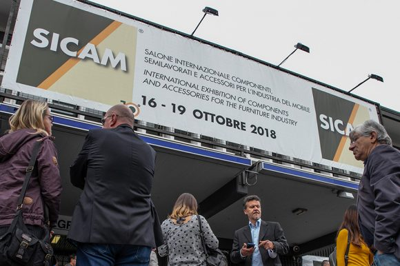 Mara nahm an der zehnten Veranstaltung der Sicam-Messe in Pordenone teil