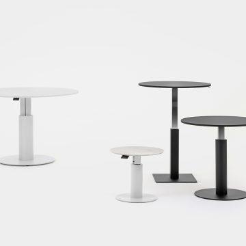 Tische mit zentralem Fuß