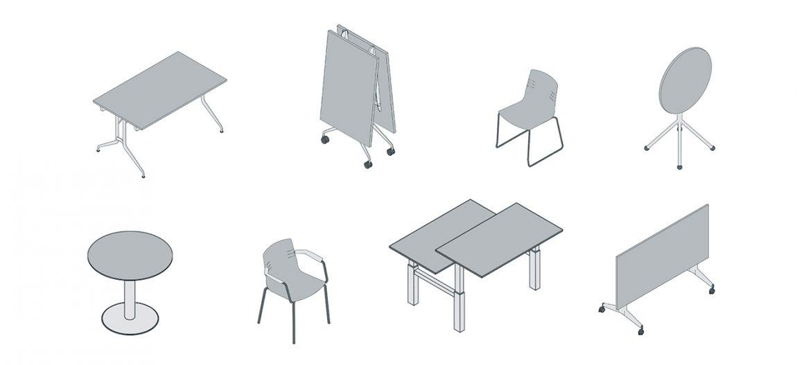 Scopri la libreria dei modelli 3D efirma il tuo progetto con i prodotti Mara!