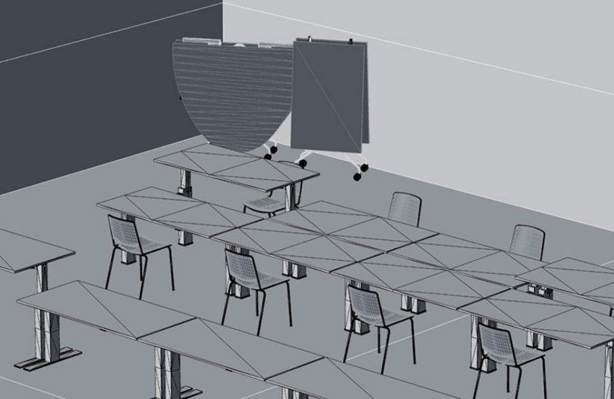 Découvrez la librarie de modèles 3D et signez votre projet avec les produits Mara!