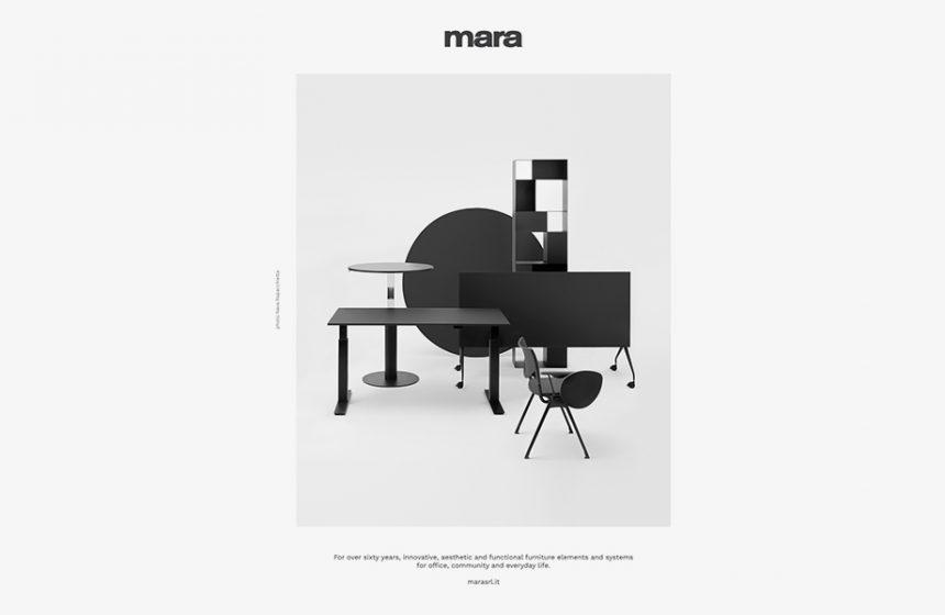 Nouvelle campagne publicitaire Mara