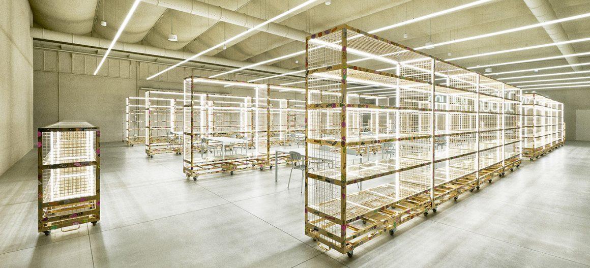 Mara per il nuovo headquarters di Golden Goose a Milano