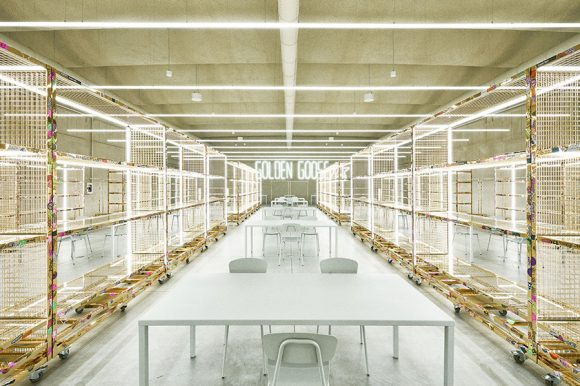 Mara for the new Golden Goose headquarters in Milan